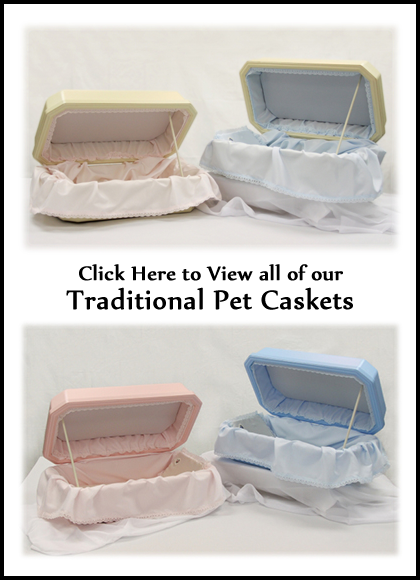 Traditional Dog Caskets