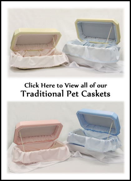 Traditional Pet Caskets