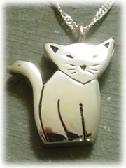 Cat Pet Cremation Jewelry