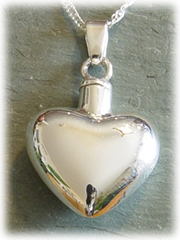 Heart Pet Cremation Jewelry