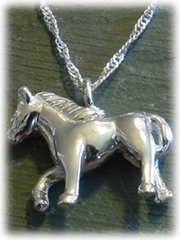 Horse Pet Cremation Jewelry
