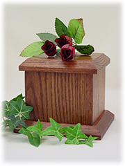 Economy Pet Urn - Small - Chestnut