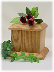Economy Pet Urn - Small - Natural