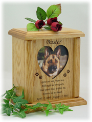 Photo Poem Pet Urn PSP-122-H