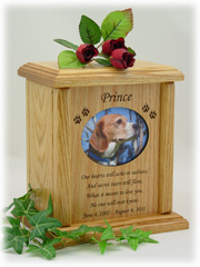 Photo Poem Pet Urn PSP-122-HO